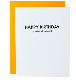 chez gagne hbd f*cking fossil card