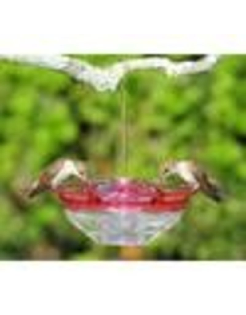 Aspects Hummingbird Feeder, Humm Blossom, Rose, 4 oz, ASPECTS433