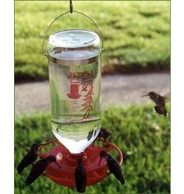 Hummingbird feeder, 32oz.  Glass Bottle, BEST-1