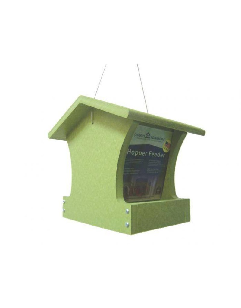Seed Feeder, Hopper, Small, Recycled, USA Made, GSHF100