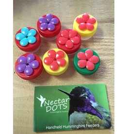 Hummingbird Feeder, Nectar Dots, NDRY34