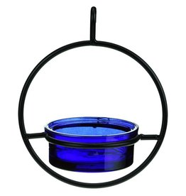 Bird Feeder, Sphere Hanging, Cobalt Glass, GC, COURM04520015