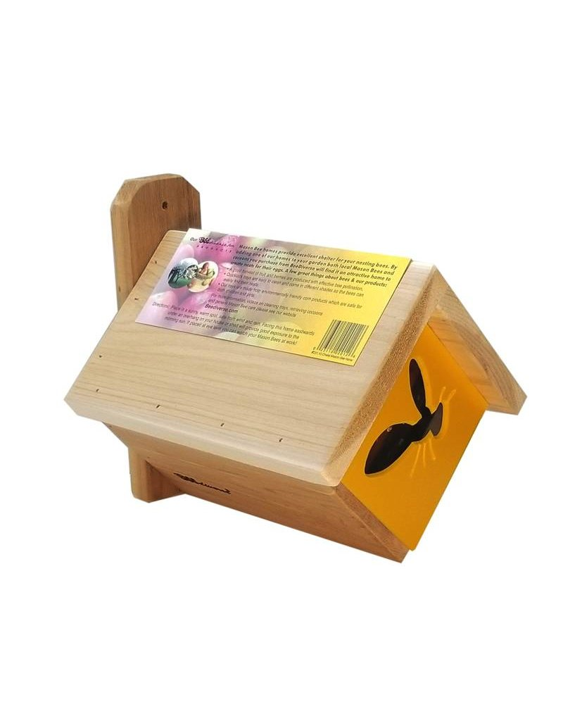 Mason Bee, Chalet, 30 Holes with Predator Guard