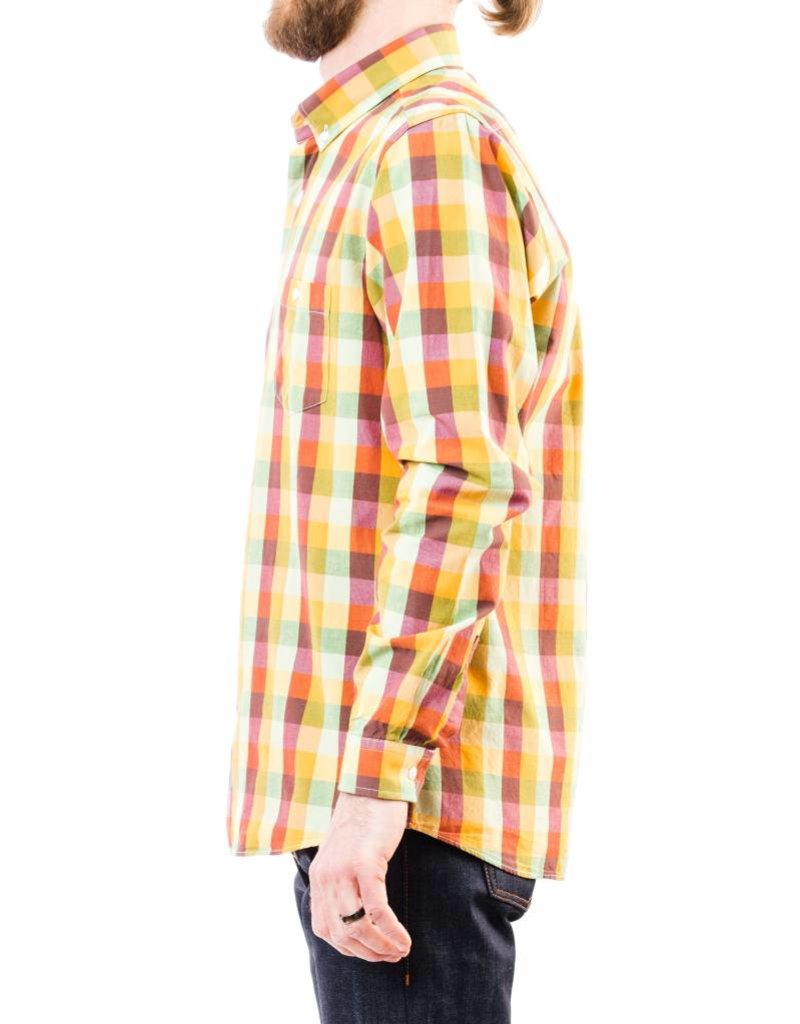 AFIELD CASUAL LONG SLEEVE BUTTON DOWN