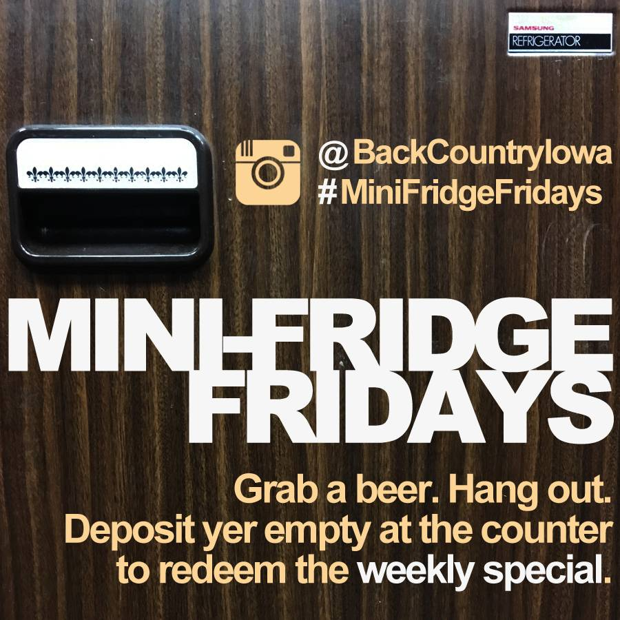 Mini Fridge Fridays