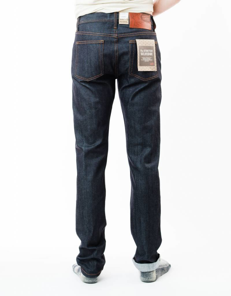 NAKED & FAMOUS 11OZ. STRETCH SELVEDGE
