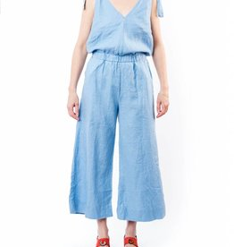 4OUR DREAMERS LINEN JUMPSUIT
