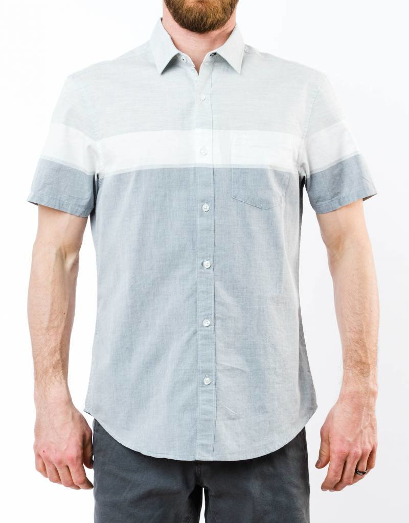 PENGUIN SHORT SLEEVE ENGINEERED STRIPE