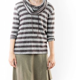 JACK MARLED KNIT STRIPED TOP
