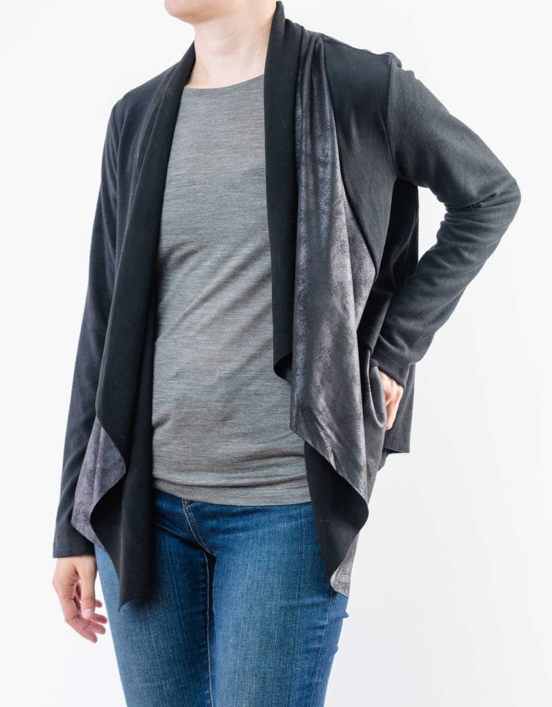MYSTREE SHAWL COLLAR OPEN JACKET