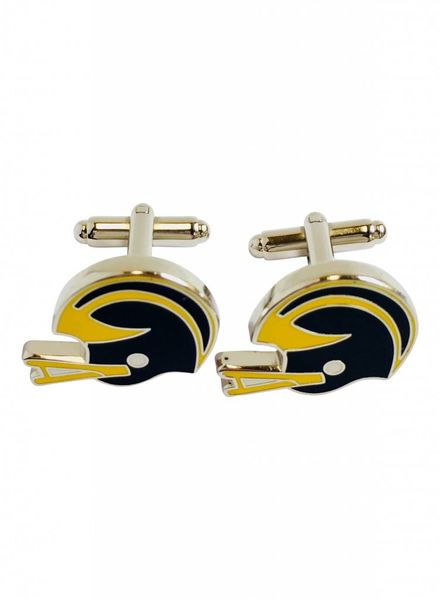 M Brand Cuff Links M Helmet