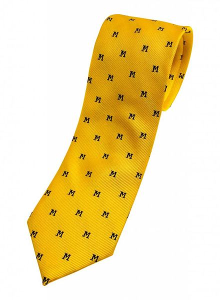 Private Stock A. Christensen M Silk Tie - Maize