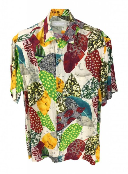 Jams World Jams World Mens Retro Shirt - Speckle