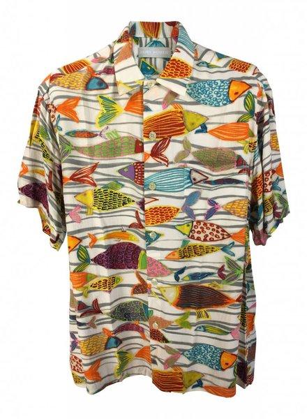 Jams World Jams World Mens Retro Shirt - Fish Frenzy