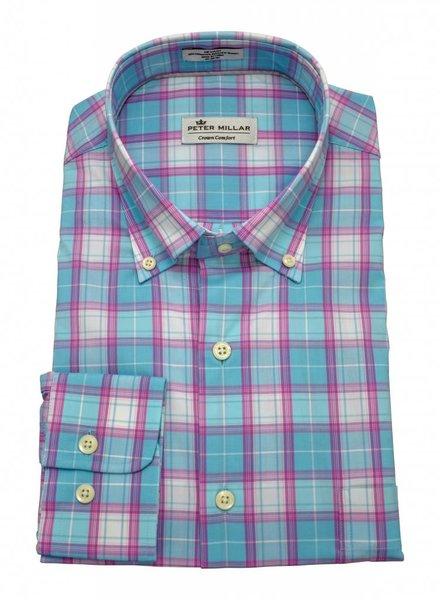 Peter Millar Peter Millar Crown Comfort Finch Multi-Check Sport Shirt