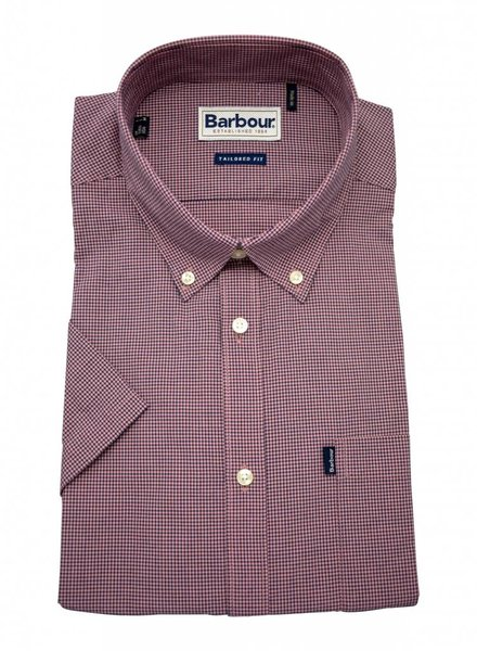 Barbour Barbour Short Sleeve Shirt - Dusty Pink
