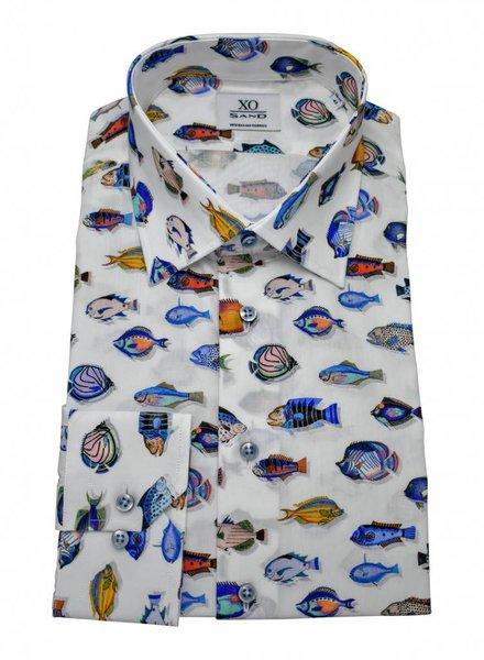 Sand XO Sand Sport Shirt - Fish