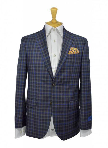 David Donahue David Donahue Classic Fit Plaid Wool Sport Coat