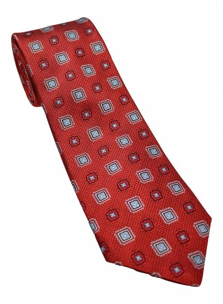 JZRichards JZ Richards Silk Tie - Red