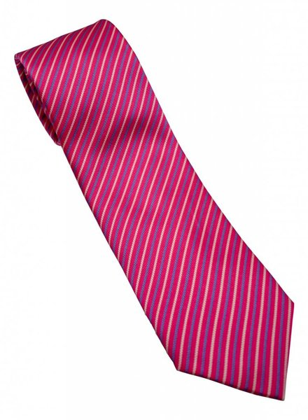 David Donahue David Donahue Silk Tie - Stripe