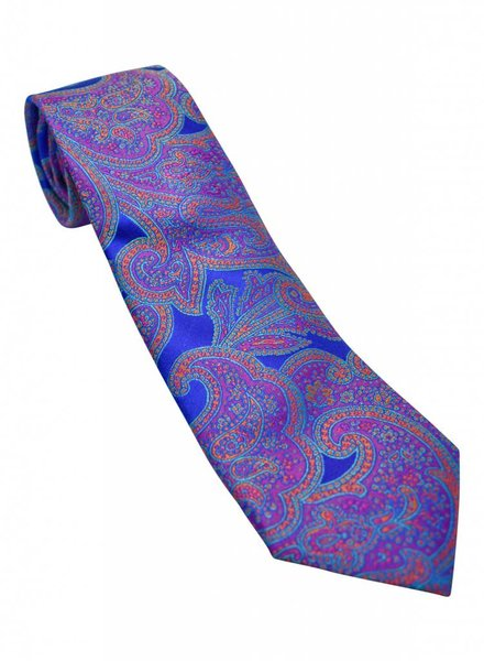 Robert Talbott Robert Talbott Best of Class Tie - Blue Paisley