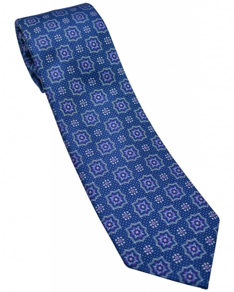 David Donahue David Donahue Silk Tie - Blue