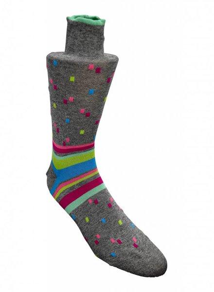 Bugatchi Bugatchi Socks - Steel