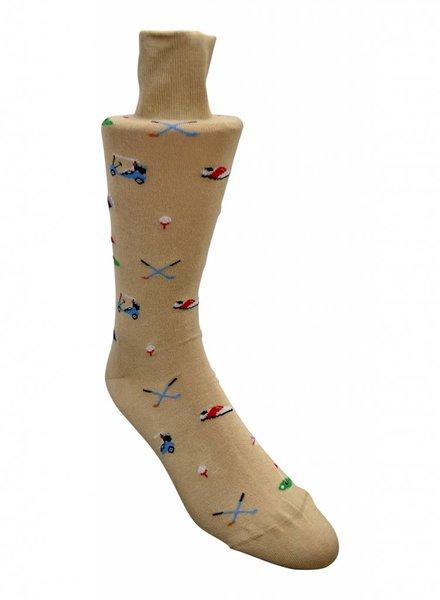 Peter Millar Socks - Beige