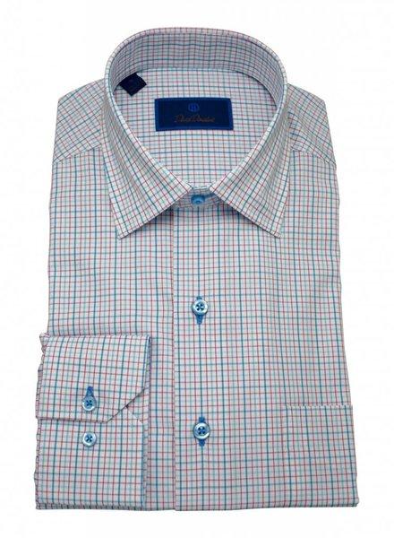 David Donahue David Donahue Spread Collar Sport Shirt