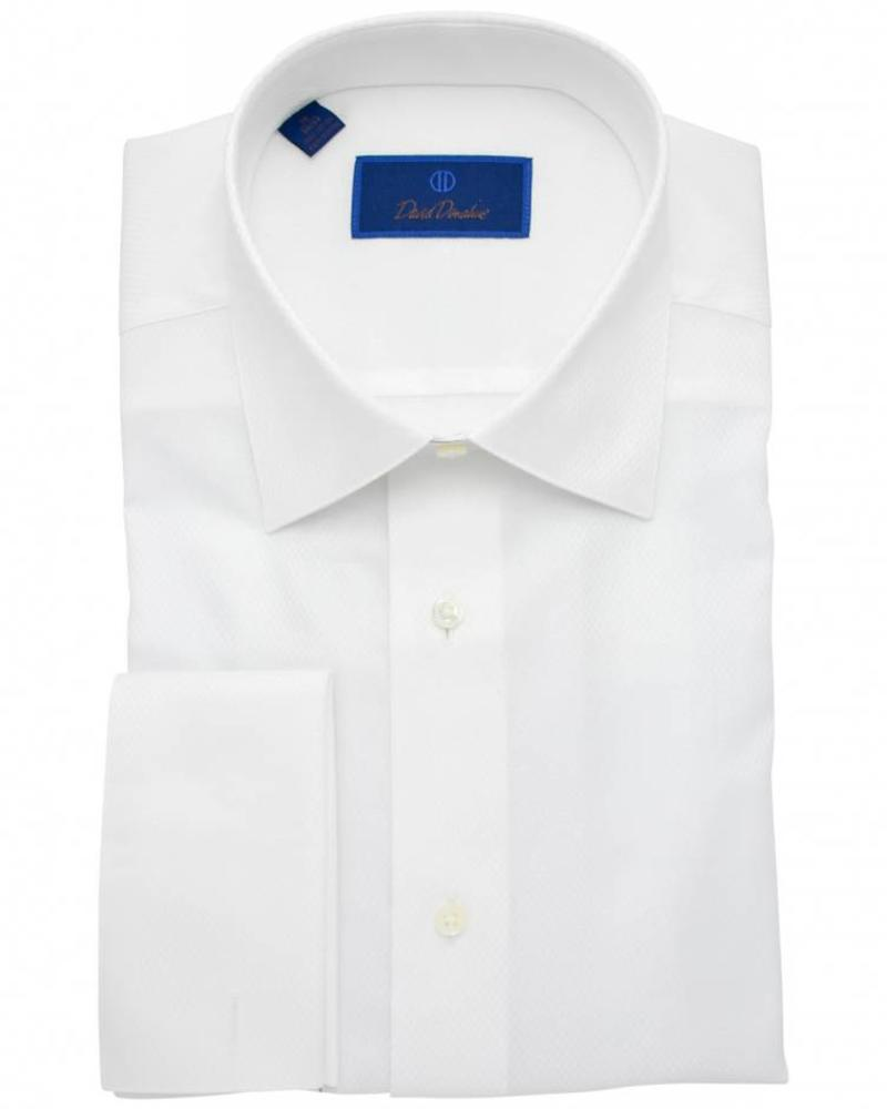 David Donahue David Donahue French Cuff Regular Fit Formal Shirt