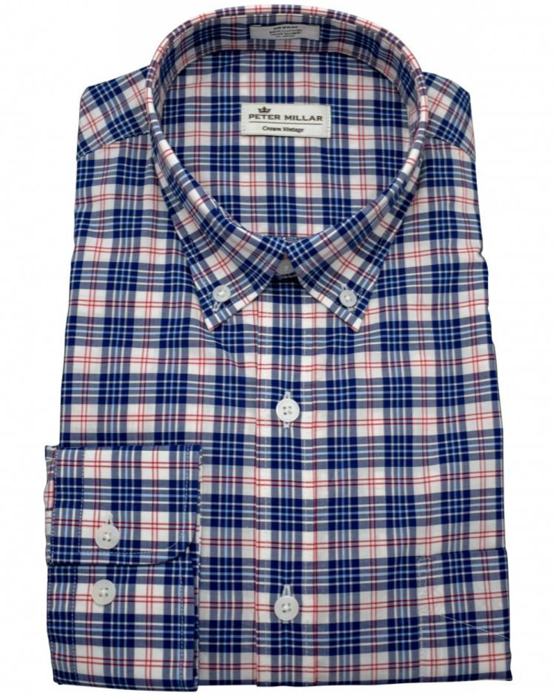 Peter Millar Peter Millar Crown Vintage Americana Plaid Sport Shirt