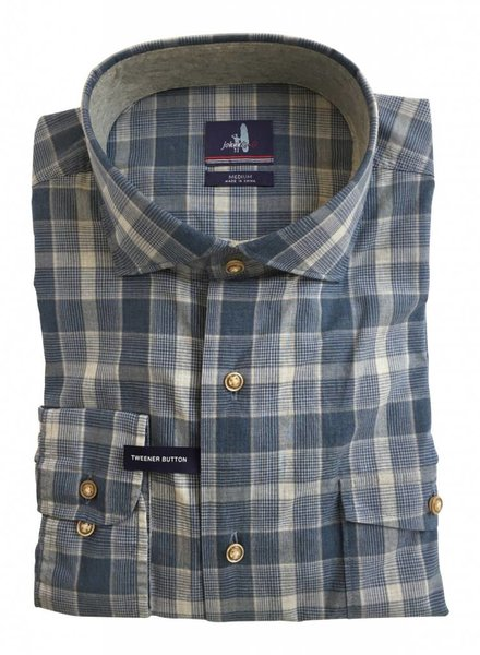 Johnnie-O Johnnie-O Highlands Classic Fit Plaid Sport Shirt