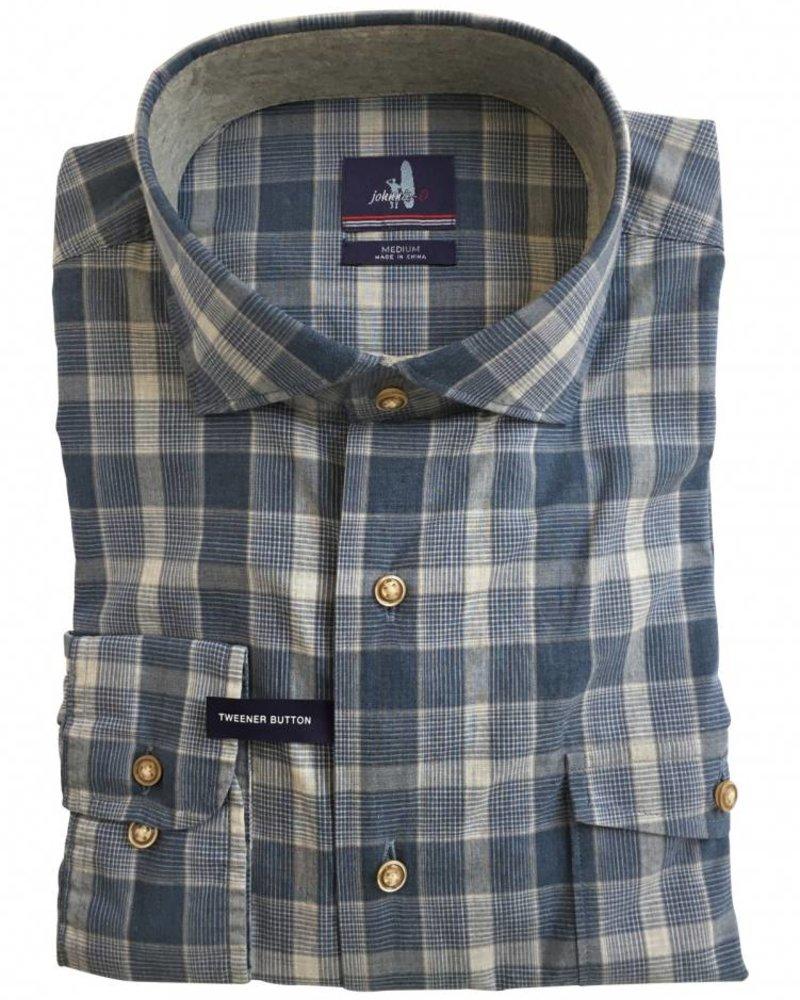 Johnnie-O Johnnie-O Highlands Classic Fit Plaid Sport Shirt