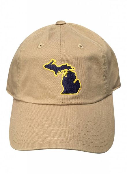 State Traditions State Traditions Beige Michigan Ann Arbor Gameday Hat