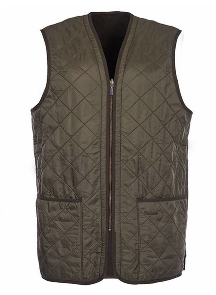 Barbour Barbour Polarquilt Waistcoat Zip-In Liner - Olive