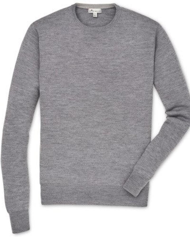 Peter Millar Peter Millar Crown Soft Crew Neck Sweater - British Grey