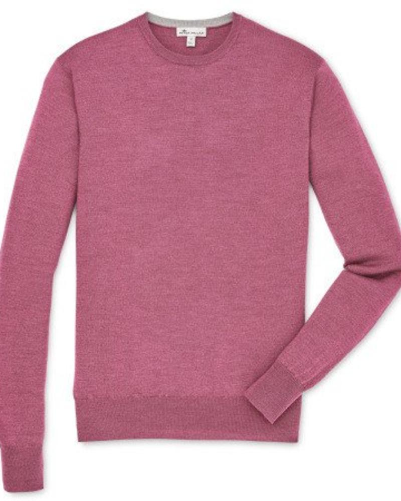 Peter Millar Peter Millar Crown Soft Crew Neck Sweater - Radish