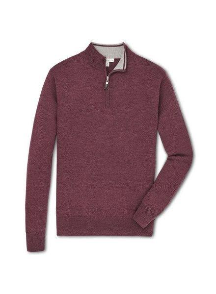 Peter Millar Peter Millar Crown Soft Quarter Zip Sweater - Autumn Foliage