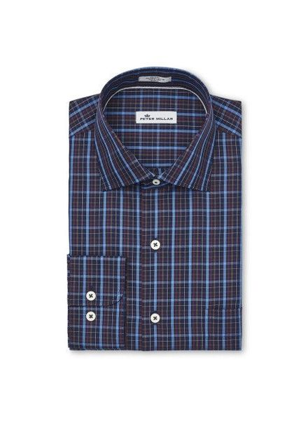 Peter Millar Peter Millar Crown Soft Quarry Falls Plaid Sport Shirt