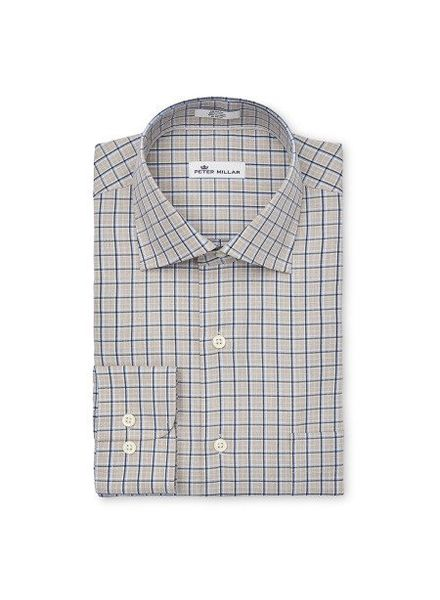 Peter Millar Peter Millar Crown Jackson Check Sport Shirt - Cork