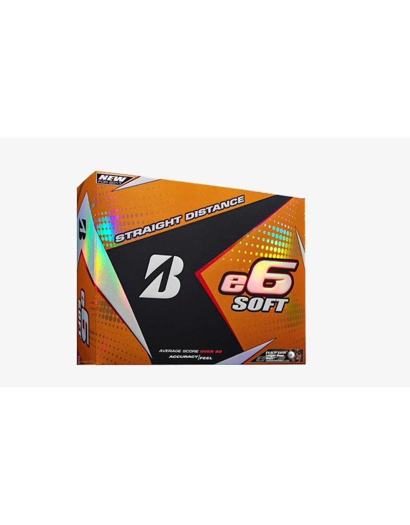 Bridgestone Bridgestone E6 Soft White 1 DZ Golf Balls