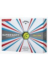 Callaway Callaway Supersoft 17 Yellow Golf Balls Dozen