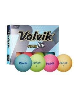 Volvik Volvik Vivid Lite Assorted Pastel Color Golf Balls