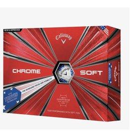 Callaway Callaway Chrome Soft 18 Truvis Stars/Stripes Balls