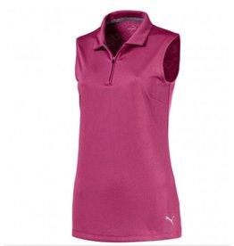 Puma Puma Women's Dassler Jacquard Sleeveless Golf Polo