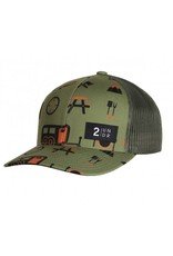 2UNDR 2UNDR Snap Back Hat - Campers