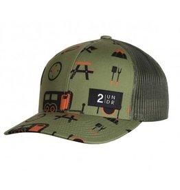 2UNDR 2UNDR Snap Back Hat - Campers