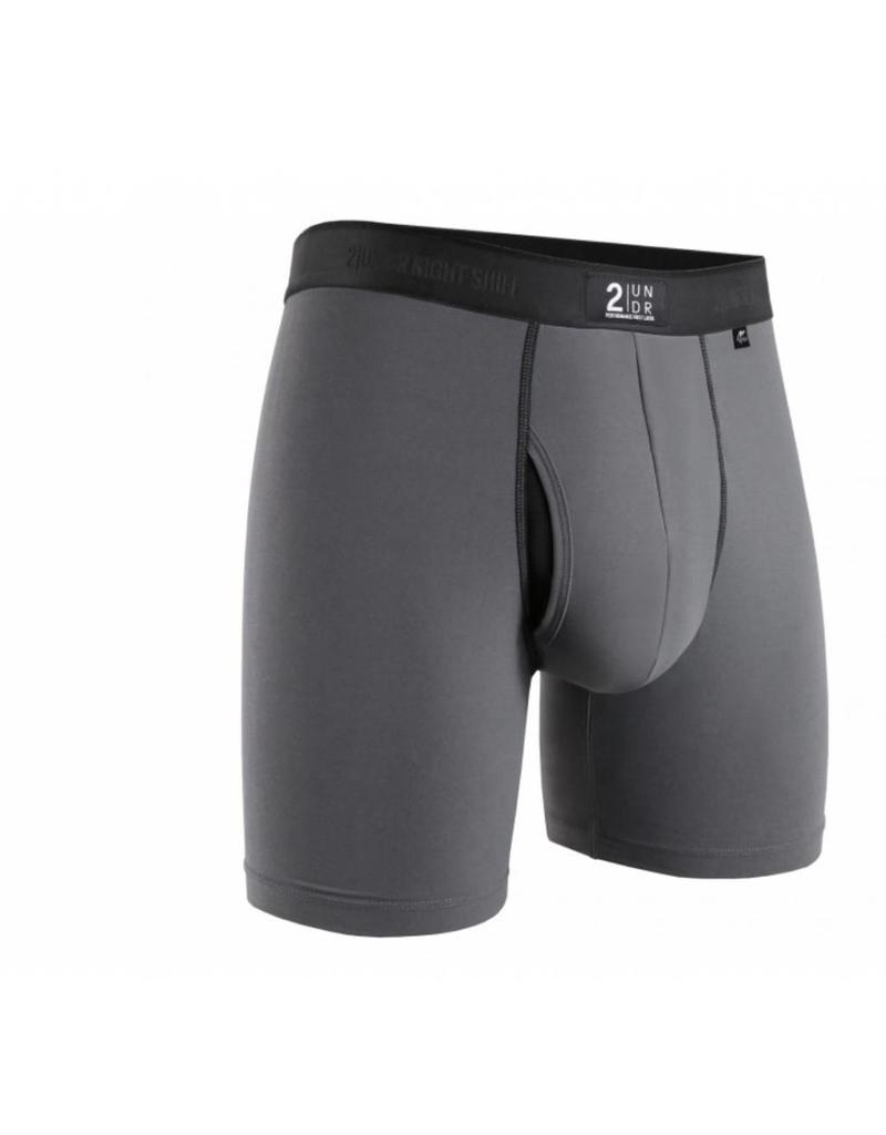 """2UNDR 2UNDR Night Shift 6"""" Boxer Brief- 3 Colors Available!"""