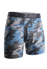 """2UNDR 2UNDR The Swing Shift 6"""" Boxer Brief- 12 Colors Available!"""