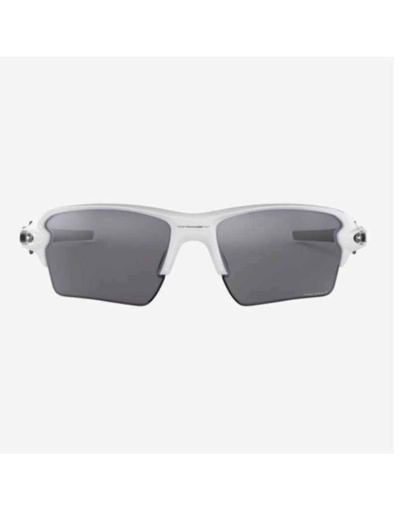 Oakley Oakley Flak 2.0 XL Polished White - Prizm Black Polarized Lens